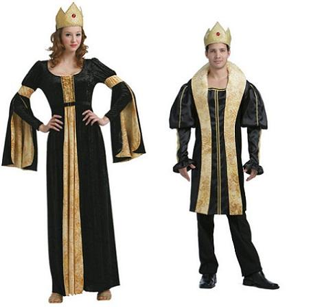 medievales-pareja-dorado