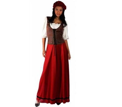 disfraz-campesina-rojo