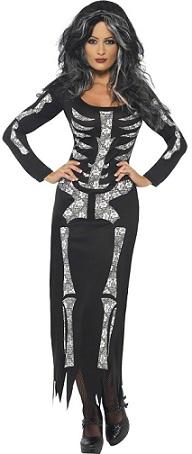 disfraces-mujer-halloween-esqueleto
