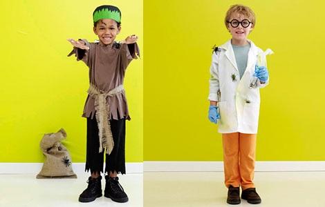 disfraces-caseros-halloween-ninos-frankstein