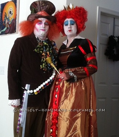 disfraces-halloween-parejas-caseros-alicia