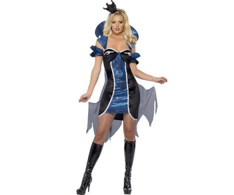 disfraces-halloween-sexys-mujer-reina-oscura
