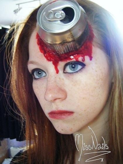 5 Ideas de maquillaje de Halloween para mujer 2014