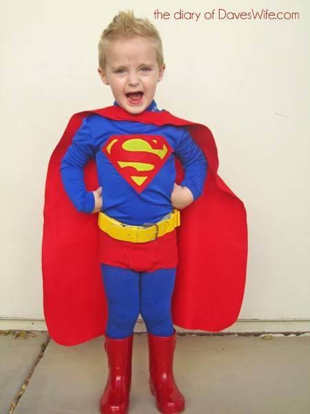Disfraz Superman Adulto Disfraz-de-superman-para-niño3